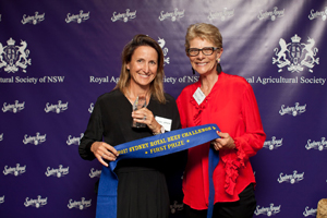 2017RAS Beef Challenge Awards  019 Wendy Mayne  Louise MacCue Domestic Team Feedlot Performance